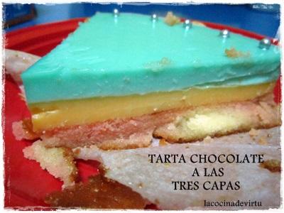 TARTA CHOCOLATE A LAS TRES CAPAS 2